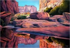 Jonathan Frank Studio - High Definition Watercolors of Canyonlands National Park and other amazing sites around the Southwest.