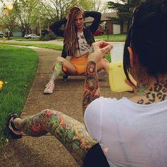 Tattoos & Boobs