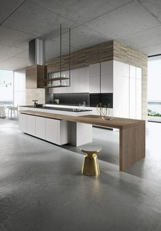 The most superb thing about the kitchen actually is depending on its design. If you are thinking about altering your kitchen layout, you want a few kitchen design ideas to get you started. A new kitchen design means you need… Continue Reading → Best Kitchen Designs, Modern Kitchen Design, Interior Design Kitchen, Modern Design, Modern Interior, Kitchen Hoods, New Kitchen, Kitchen Decor, Kitchen Ideas