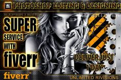 do custom Photoshop EDITING or designing work by expretever