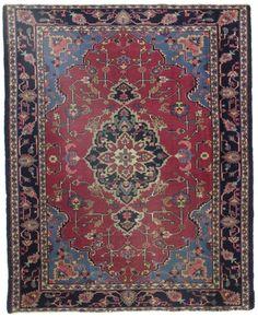 5 x 6 Antique Turkish Rug 10559