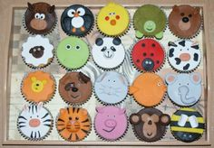 It's a cupcake zoo!