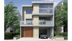 パルコン ライズ | 外観デザイン | 戸建 | 地震に強い家 コンクリート住宅 パルコン | Palcon 大成建設ハウジング
