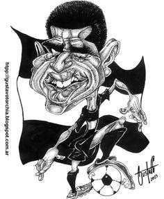Boceto de Juan Román Riquelme