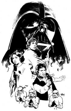 ✭ Star Wars by Stuart Immonen
