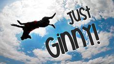 Just Ginny!  #amazing #dog #tricks #performance #agility #frisbee #discdog #handwalk #funny #cute