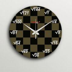 Random Under Roots Wall Clock
