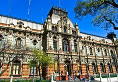 The Most Beautiful Building in Buenos Aires: El Sanitario - The most beautiful building in Argentina isn't a museum, a mansion, or even an official government office, its the sanitary headquarters for the city.  The intricate details that you find around the building, called El Sanitario, is extremely impressive.