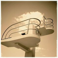 Art Deco diving board, Valencia