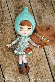 """Blythe custom, """"Jeanne"""" by BellaDolla #033 de la boutique BellaDollaCreations sur Etsy"""