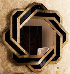 John-Richard Collection Mosaic Mirror Art deco inspired by Neiman Marcus – knot mirror – Mobilier de Salon Casa Art Deco, Arte Art Deco, Art Deco Spiegel, Spiegel Design, Designer Spiegel, Home Decor Shops, Retro Home Decor, Art Nouveau, Muebles Art Deco