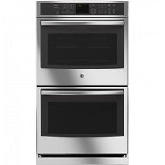 GE 30'' Self Clean Electric Double Wall Oven with Convection - Sears
