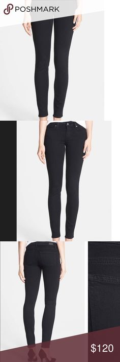 Paige Verdugo Ultra Skinny Jeans in Black Shadow worn once and washed once. very comfortable and flattering fit. true to size. Paige Jeans Jeans Skinny