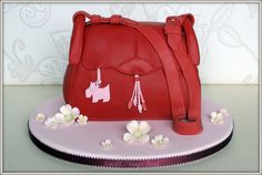 Bag Cakes | My first attempt at a handbag cake.....