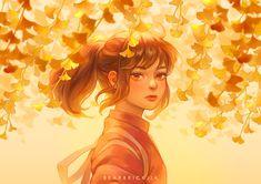 Spirited away design - Chihiro, Haku and no face Studio Ghibli Art, Studio Ghibli Movies, Girls Anime, Anime Art Girl, Manga Girl, 2560x1440 Wallpaper, Chihiro Y Haku, Girly Drawings, Wow Art
