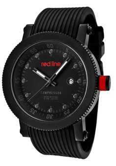 Price:$129.00 #watches Red Line 18001-01GR-BB, An aura of brilliance. This Red Line timepiece glows with its irradiant charm. Its smooth design will intensify anyone's personality.