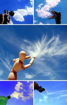 Cloud art.