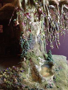 More ivy on tree house | My fairy tree trunk bonsai house is… | Flickr