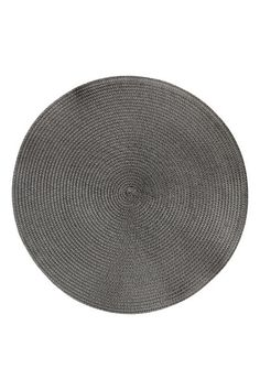 straw table mats - Anthracite grey - Home All H&m Home, Packing, Table, Decor, Grey, Products, Bag Packaging, Gray, Decoration