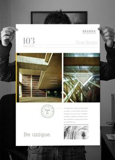 Real Estate Co. Branding by Janavi Kothari, via Behance