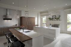 Kitchen Wood Bar Tops designed by John Troxell of Wood-Mode Inc. https://www.glumber.com/