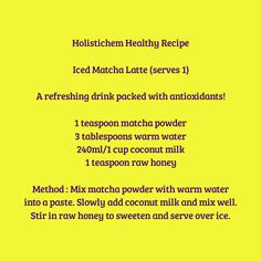 Find more clean eating recipes in our nutrition and wellbeing book as well as a new healthy recipe every month on our website. Check out www.holistichem.com for further info.