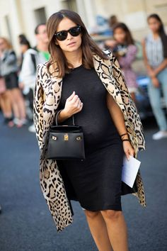 Leopard. | maternity fashion style