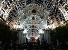 Inauguración de la ida día 4 de Mayo, Procesión de la Vírgen.