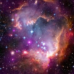 Small Magellanic Cloud Galaxy Space Photo Print from The Astronomy Gift Shop Image Credit: NASA/CXC/JPL-Caltech/STScI
