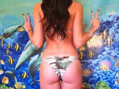 Bow Back Bikini available on SailandSass.com!    #SAILANDSASS #sanlorenzobikinis