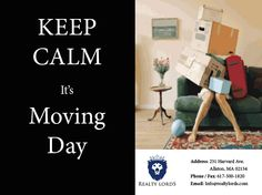 Here's an article on how to successfully navigate moving day in Boston. #RealEstate   https://realtylords.wordpress.com/2015/07/07/how-to-navigate-bostons-moving-day/