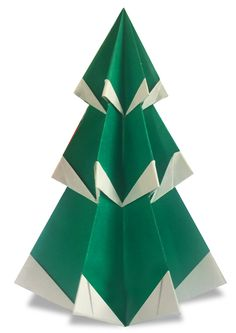 The most popular and famous origami web site on the planet. Try Japanese traditional paper crafts. Origami Christmas Tree, Christmas Tree With Snow, Christmas Crafts, Christmas Decorations, Xmas, Crafts To Make, Arts And Crafts, Paper Art, Paper Crafts