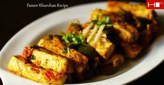 Paneer khurchan recipe is an easy & quick north indian semi dry curry. This is a Restaurant style scraped panner with capsicum and onions.For more information Visit https://www.hungryforever.com/paneer-khurchan-recipe/