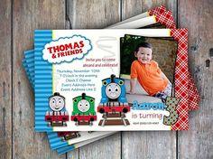 Very cute Thomas the Train invitation