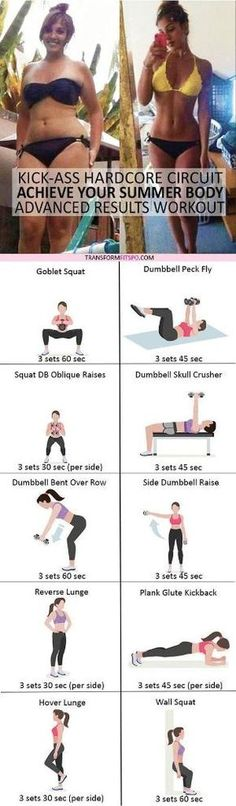 #womensworkout #workout #femalefitness Repin and share if this workout gave you a sexy summer body! Click the pin for the full workout. by tracy sam