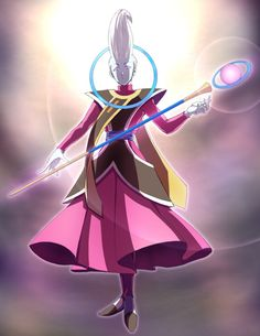 Whis or Wiss from DragonBall Super. Dragon Ball Z