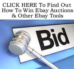 How To Win eBay Auctions & Other eBay Tools. Click on the picture twice for details