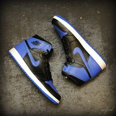 "Nike Air Jordan 1 Retro ""Black/Royal"""