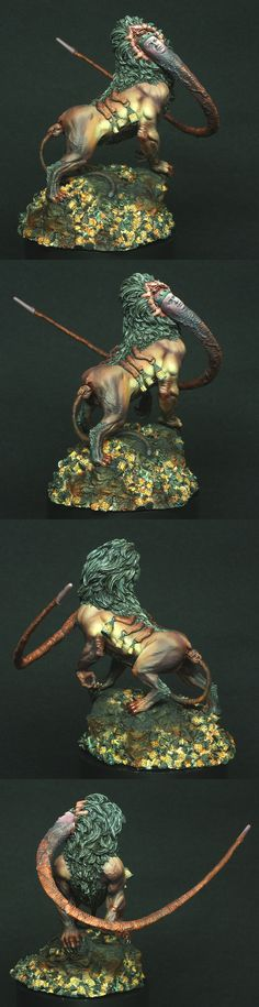 Lion God painted by Scott Hockley (Iacton)