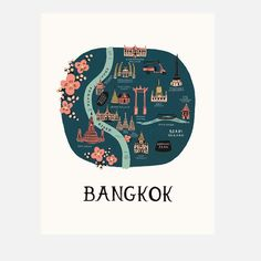 Bangkok Print byRifle Paper Co.
