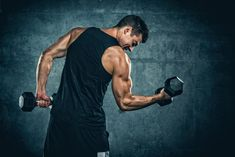 Learning to Build Lean Muscle Fast - Weight Training Tips - Health and fitness news Weight Lifting Program, Lifting Programs, Weight Training Programs, Weight Lifting Workouts, Bodybuilder, What Is Strength Training, Dumbbell Workout Routine, Workout Routines, Biceps Workout