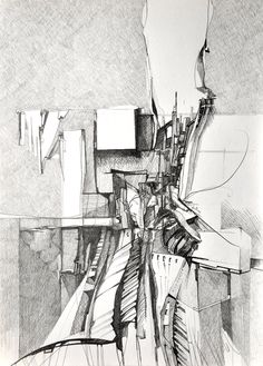 Drawing re-posted from Drawing Architecture on Tumblr