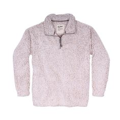 Frosty Tipped Women's Stadium Pullover in Oatmeal by True Grit (Dylan) #$100-to-$200 #Beige #cf-size-m