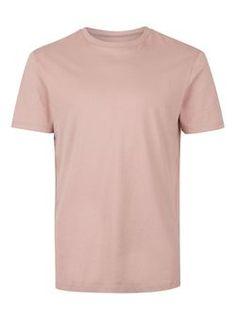 Rose Pink Slim Fit T-Shirt
