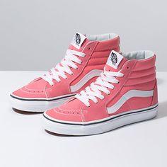 Browse bestselling Shoes at Vans including Women's Classics, Slip-On, Surf and Sandals. Shop at Vans today! Tennis Vans, Cute Vans, Pink Vans, Aesthetic Shoes, Hype Shoes, High Top Vans, High Tops, Dream Shoes, Water Shoes