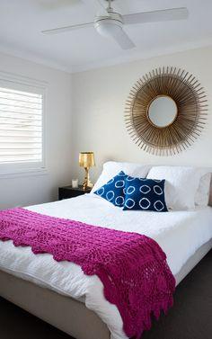 Caringbah Master Bedroom Design by Jodie Carter Design www.jodiecarterdesign.com.au. Photography by Modern Home Magazine vol 8 no 3 www.modernhomemagazine.com.au