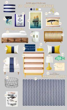 Nursery blog: nautical nursery baby room ideas