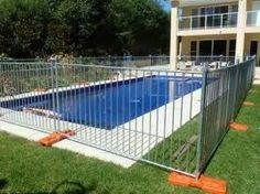 7 Best Temporary Pool Fence Images Pool Fence Temporary Pool