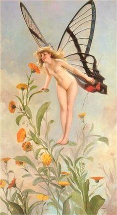 Erotic butterfly seeker