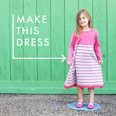 DIY Children's Dress: Turn Hand-Me-Downs into a New Creation